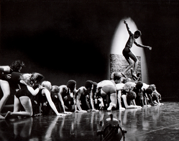 Ceremony of Us, 1969. Choreographed and performed by Anna Halprin, San Francisco Dancers' Workshop and Studio Watts School for the Arts. Performance at the Mark Taper Forum, February 27, 1969. Courtesy of Anna Halprin