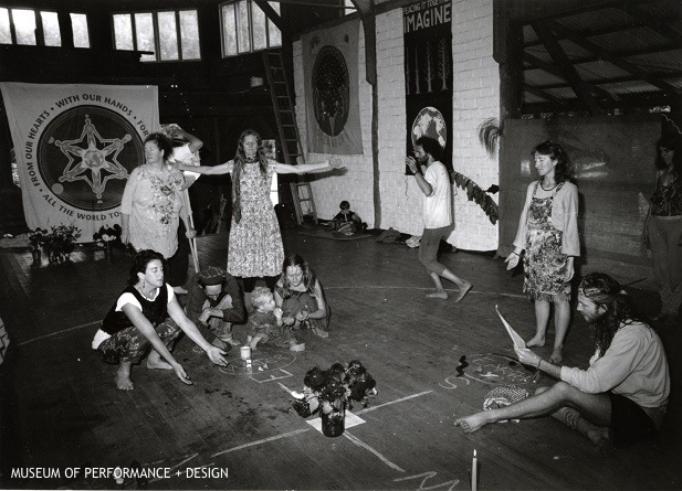 Participants in Halprin's Planetary Dance, c. 1990s Courtesy of Museum of Performance + Design