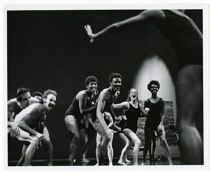 Tylon Barea (Photographer), Ceremony of Us at the Mark Taper Theatre, Los Angeles, 1969 Courtesy of Anna Halprin