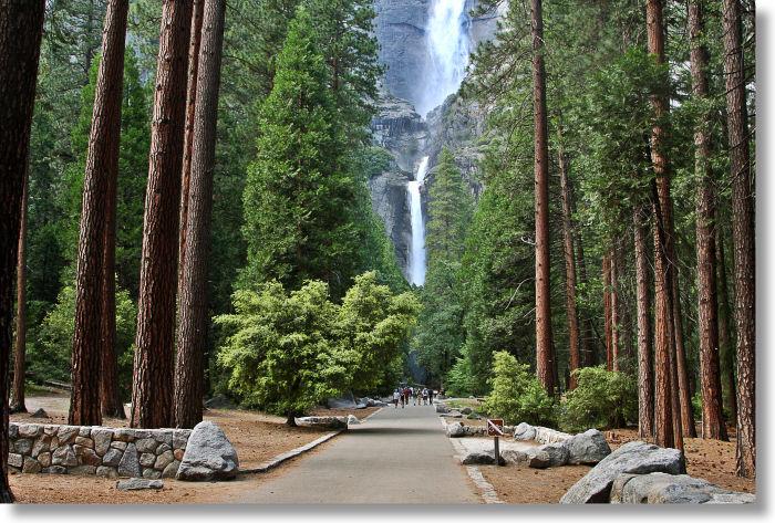 Lawrence Halprin, Approach to Yosemite Falls, c. 2005 Courtesy of yosemitehikes.com